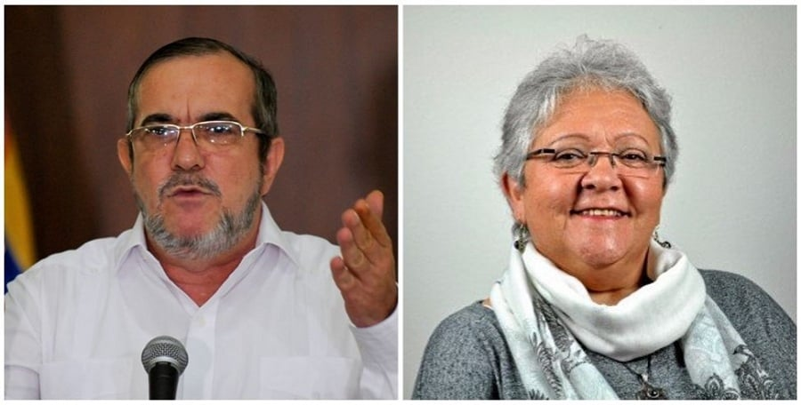 Candidatos Farc