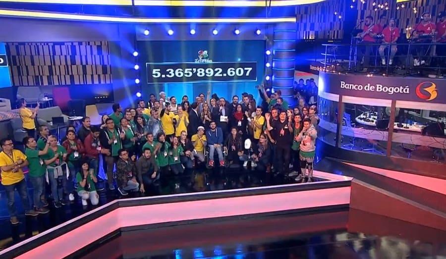 Teletón Colombia no alcanzó la meta por tercer año consecutivo