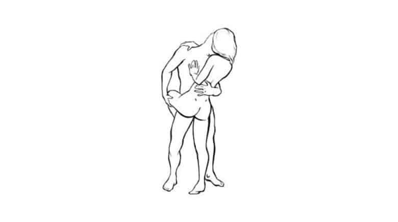 Como moverse en la posicion mujer arriba