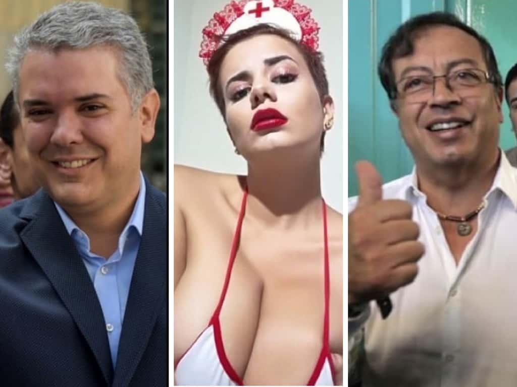 Amaranta Hank Tuitero Porn promesa de amaranta hank si gustavo petro es electo presidente